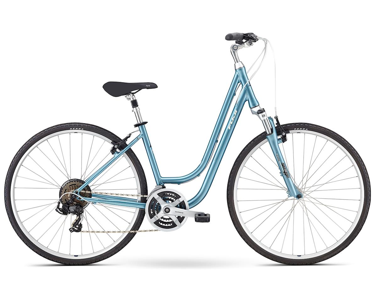 Fuji Bikes Crosstown 2.1 Women's Hybrid Bike (Light Blue) (S)