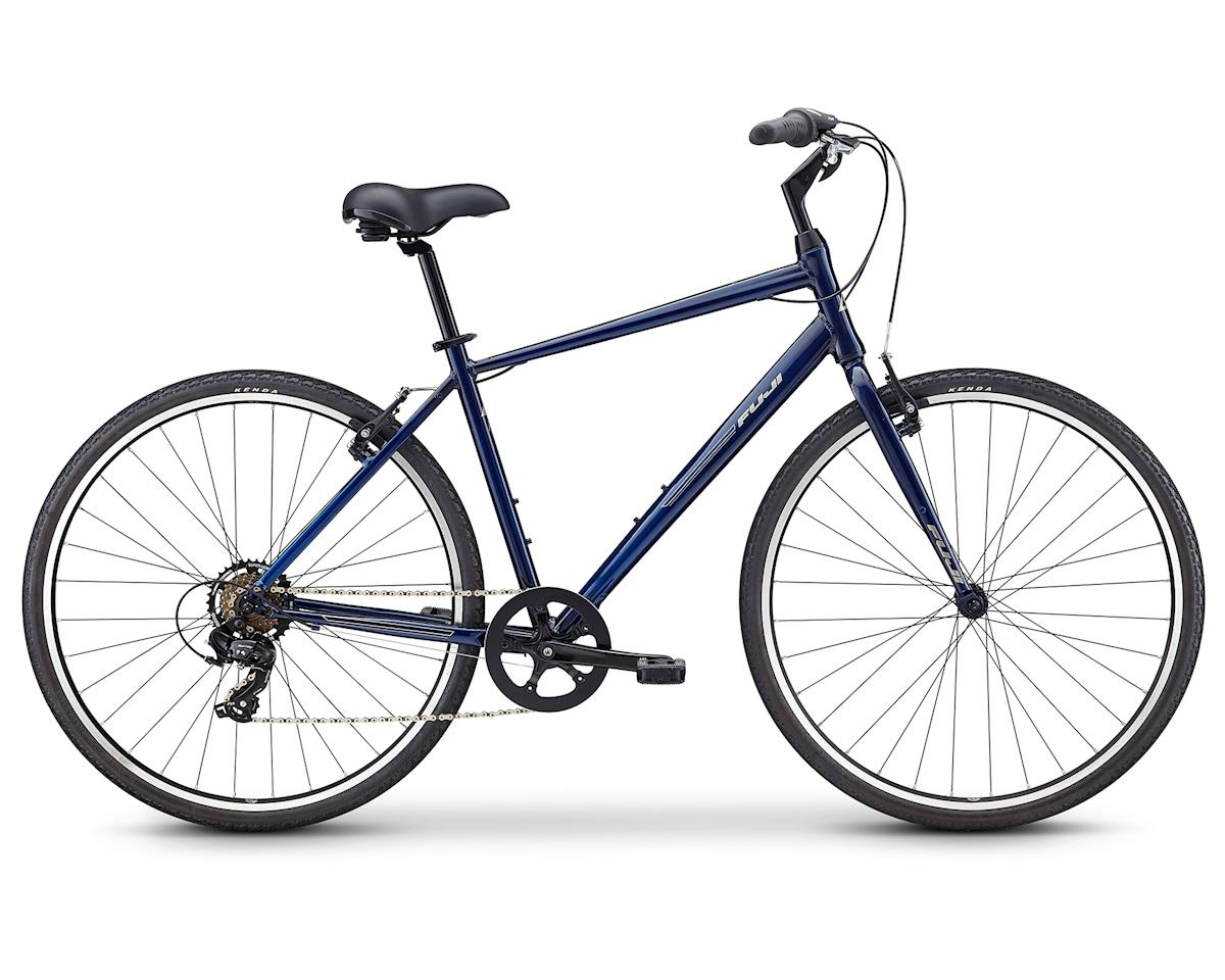 Fuji Bikes Crosstown 2.3 City Bike (Deep Navy)