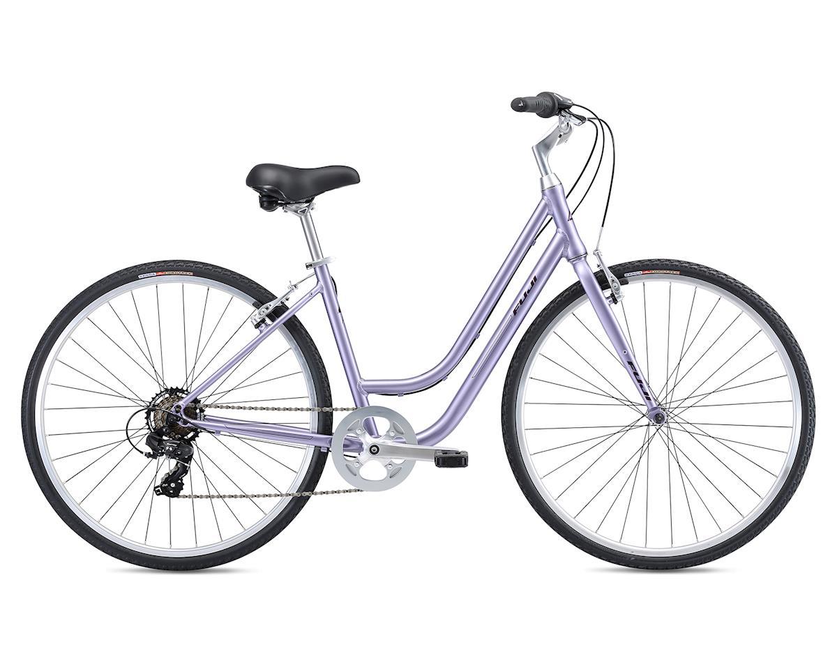 SCRATCH & DENT: Fuji Bikes 2019 Crosstown 2.3 LS Womens Comfort Bike (Lavender) (S)