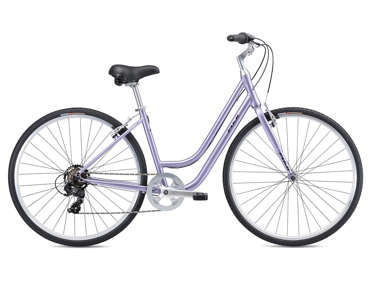 Fuji Bikes 2019 Crosstown 2.3 LS Womens Comfort Bike (Lavender) (L)