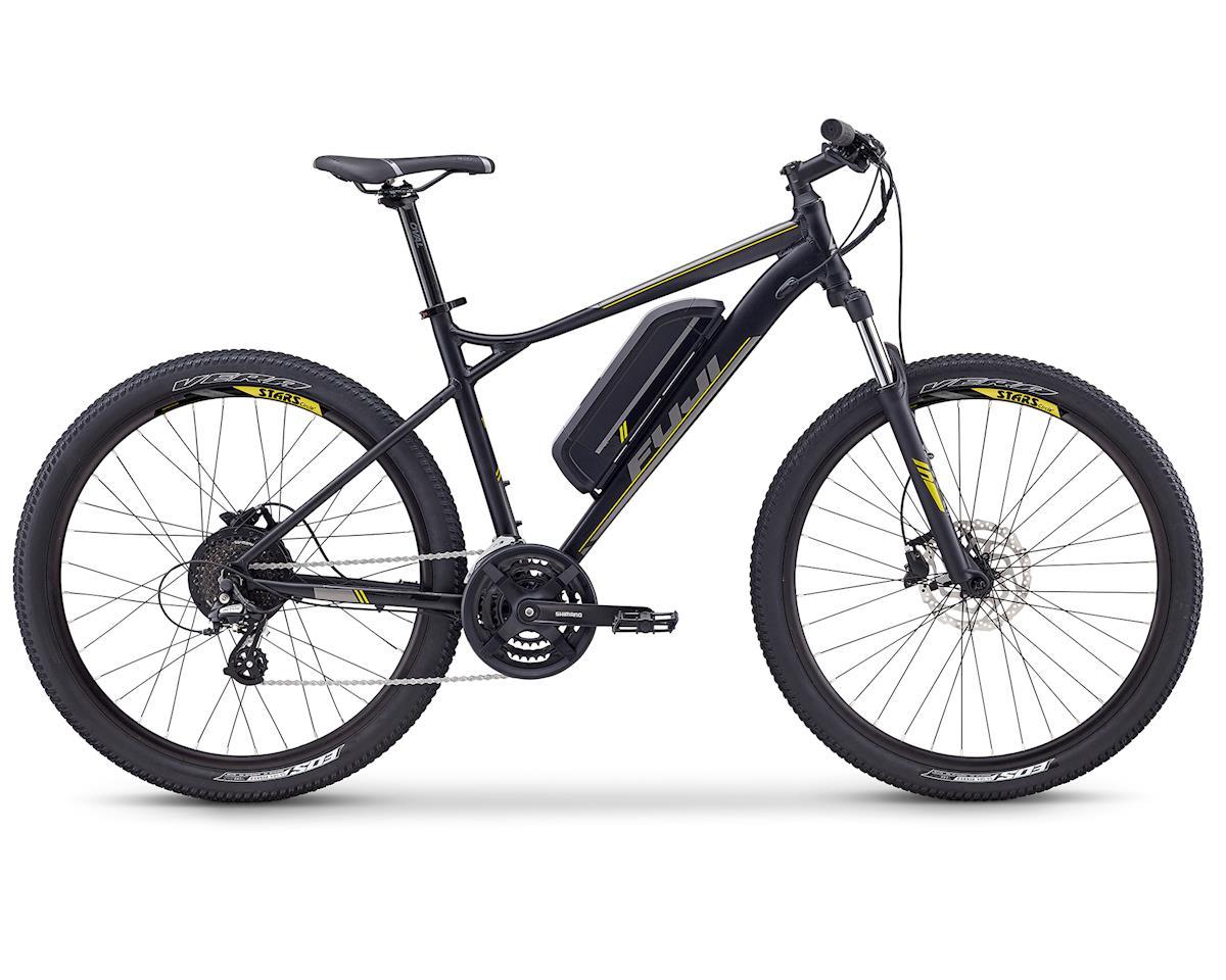 Fuji Bikes E-Nevada 27.5 2.1 E-Mountain Bike (Satin Black) (M)