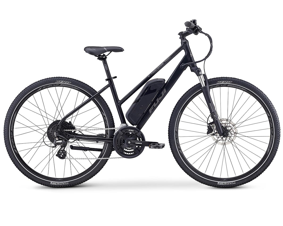 Fuji Bikes E-Traverse 2.1 ST E-Mountain Bike (Satin Black) (S/M)