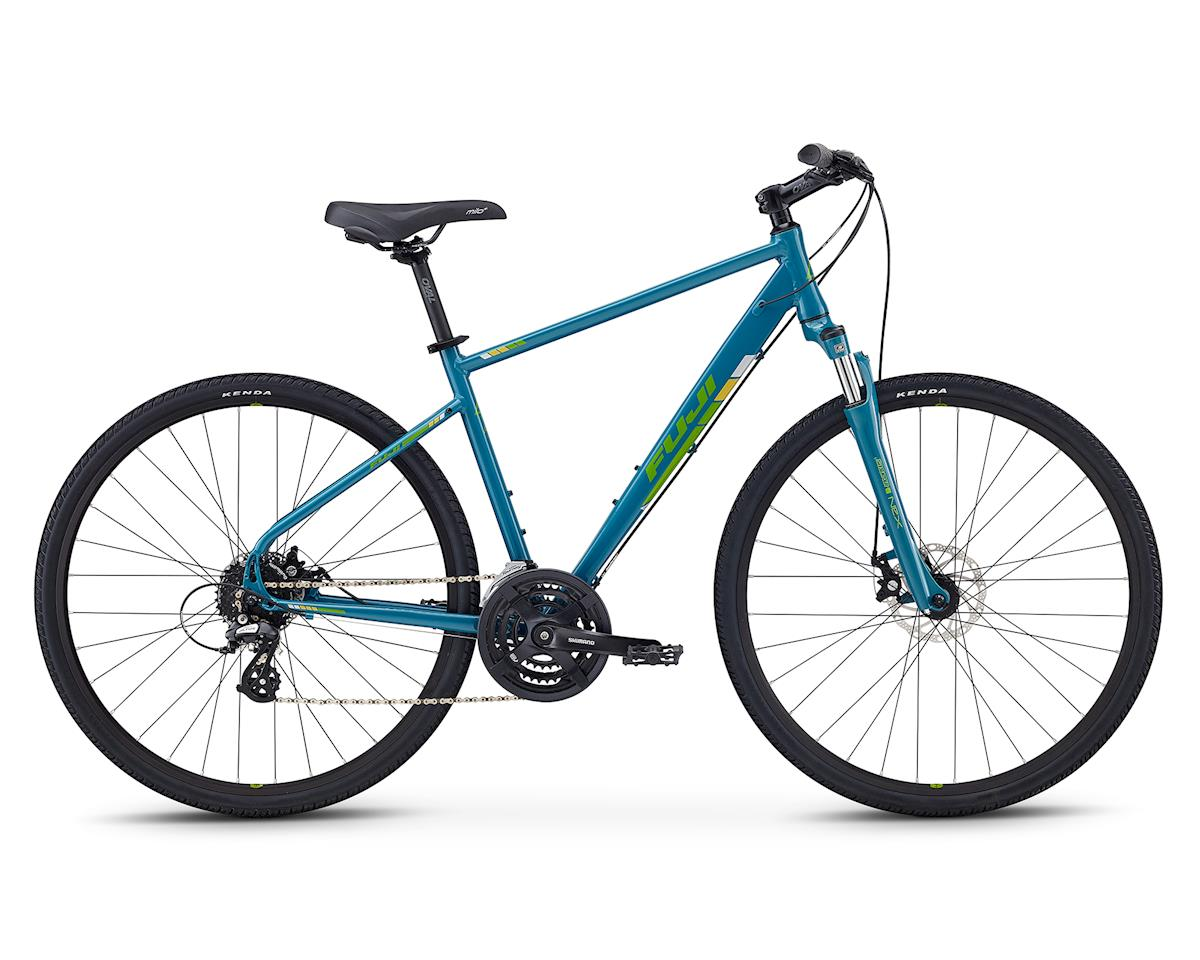 Fuji Bikes Traverse 1.5 All-Terrain Bike (Blue Green)