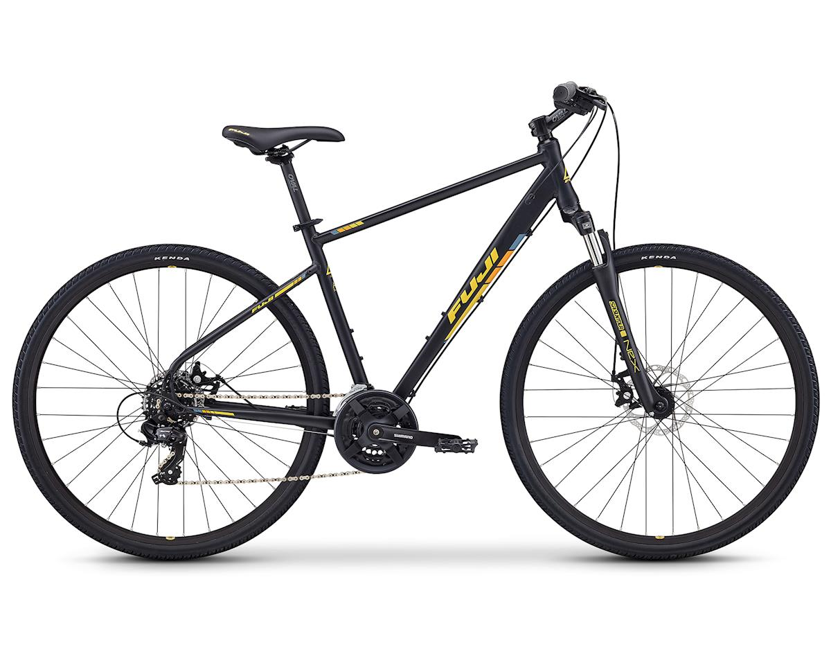 Fuji Bikes Traverse 1.7 Dual-Sport Bike (Satin Black)