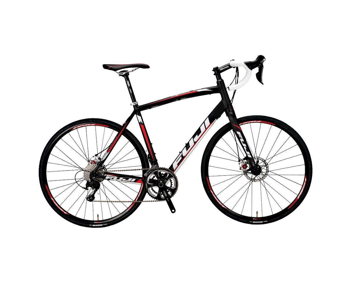 Image 3 for Fuji Bikes Fuji Sportif 1.0 LE Road Bike - 2015 Performance Exclusive (Black/Red)