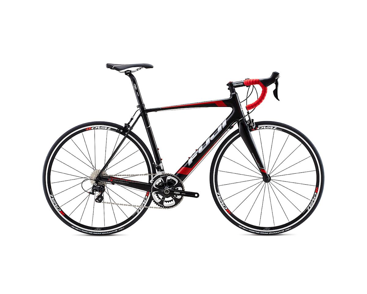 Fuji Bikes Fuji Altamira 2.7 Road Bike - 2015 (Carbon/Red)