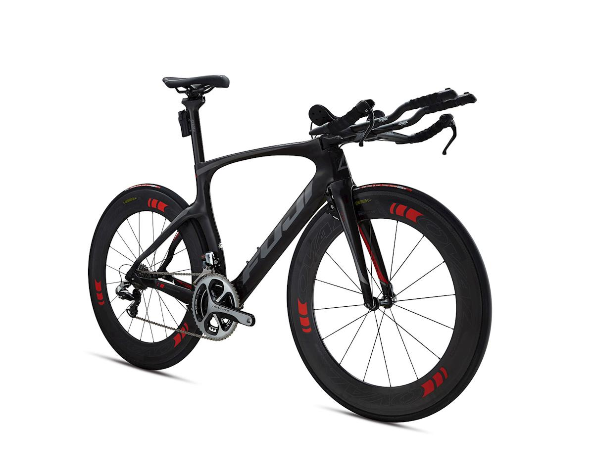 Fuji Bikes Fuji Norcom Straight 1.1 Triathlon Road Bike - 2015 (Carbon/Grey)