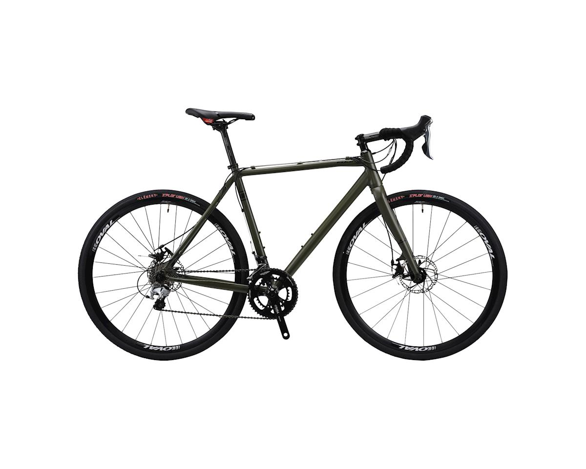 Fuji Bikes Fuji Tread 1.0 LE Disc Road Bike - 2016 Performance Exclusive (Olive)