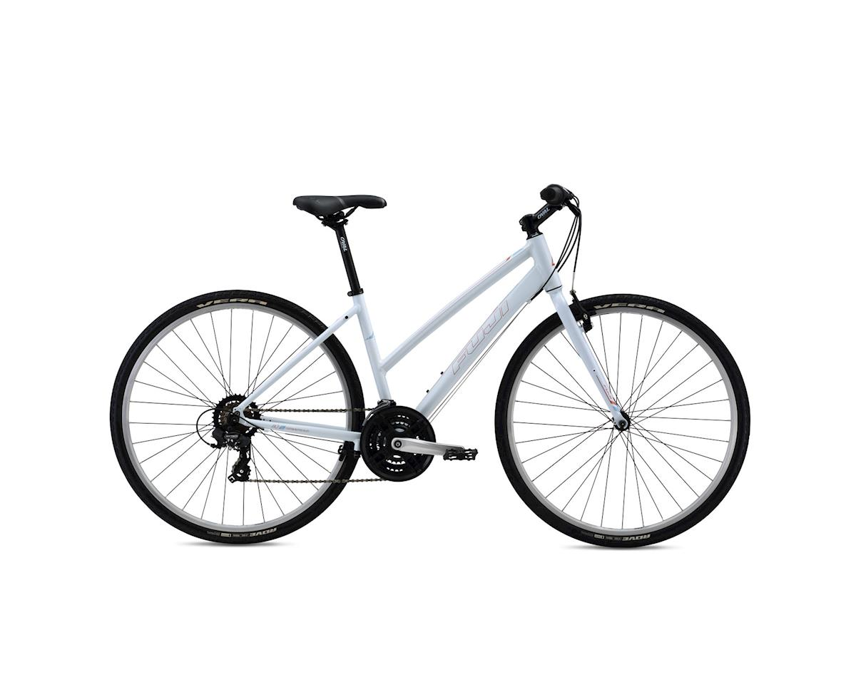 Fuji Absolute 2.3 Women's Flat Bar Road Bike - 2016 (White) (15)