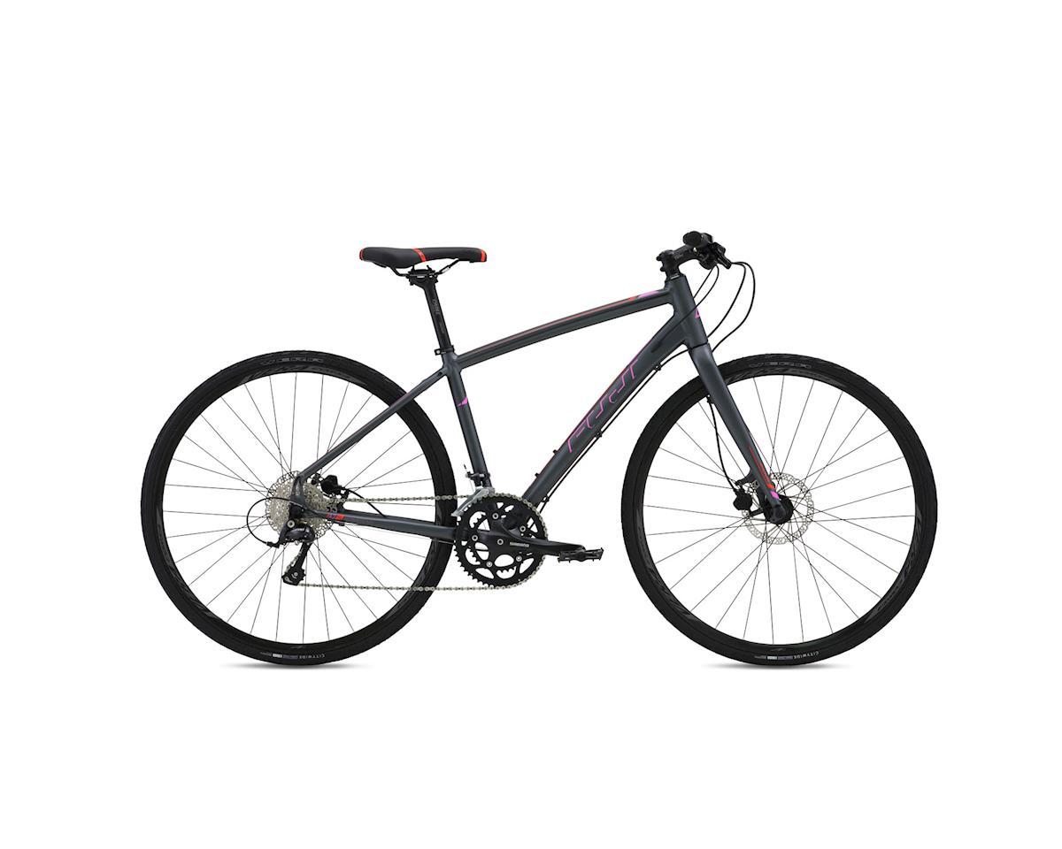 Fuji Silhouette 1.3 D Flat Bar Road Bike - 2016 (Grey) (15)