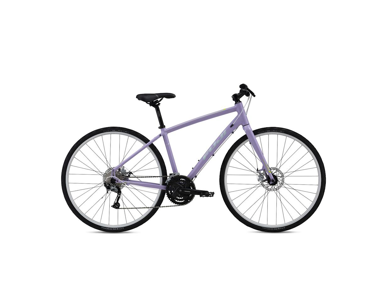 Fuji Silhouette 1.7 Disc Women's Flat Bar Road Bike - 2016 (Purple) (15)