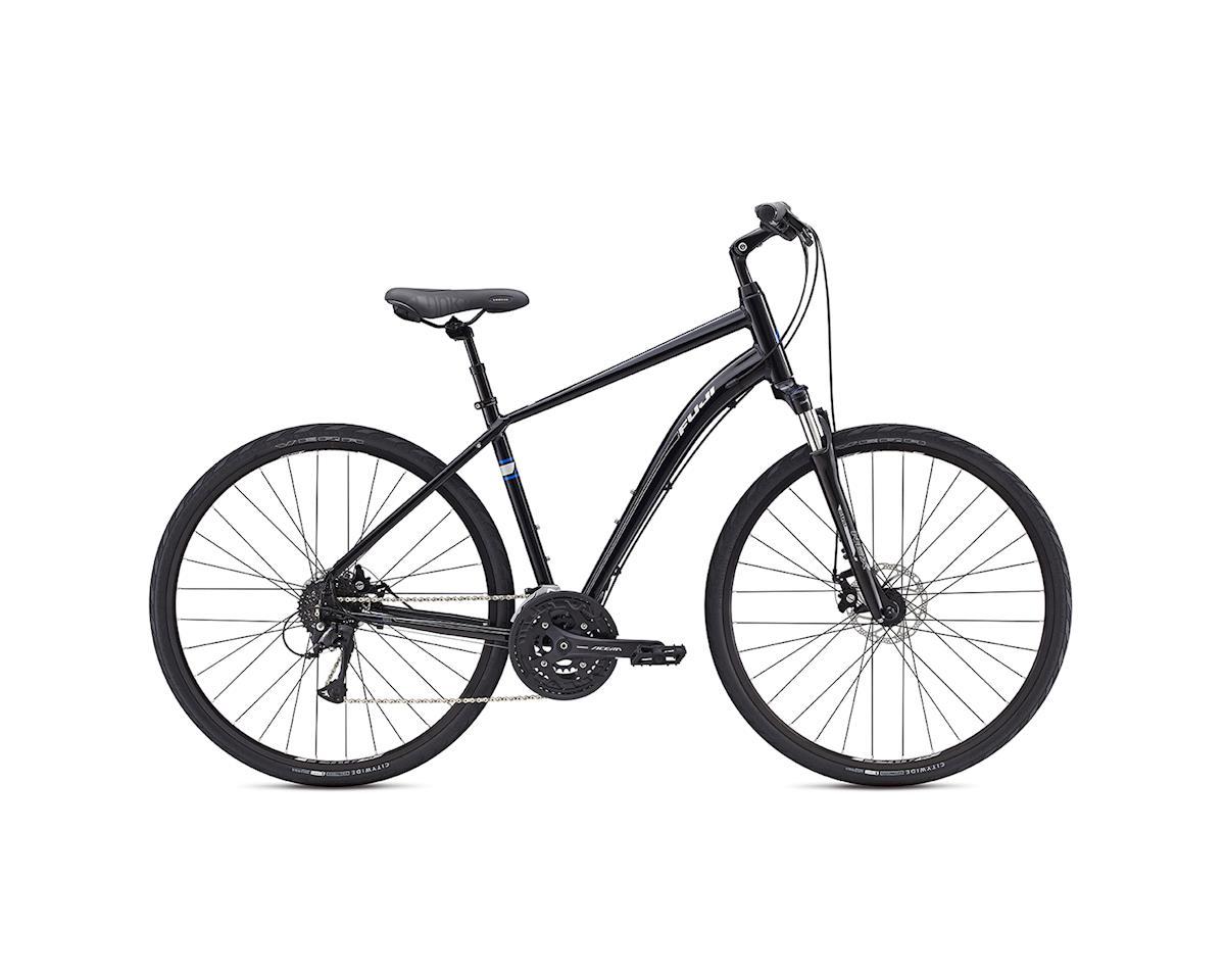 c062ed43be6 Fuji Crosstown 1.1 Comfort Bike - 2017 (Black/Grey) (15) [31-6181 ...