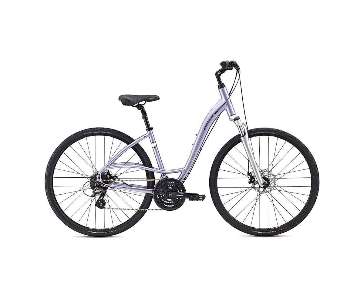 Fuji Crosstown 1.3 LS Women's Commuter Bike - 2017 (Purple) (15)