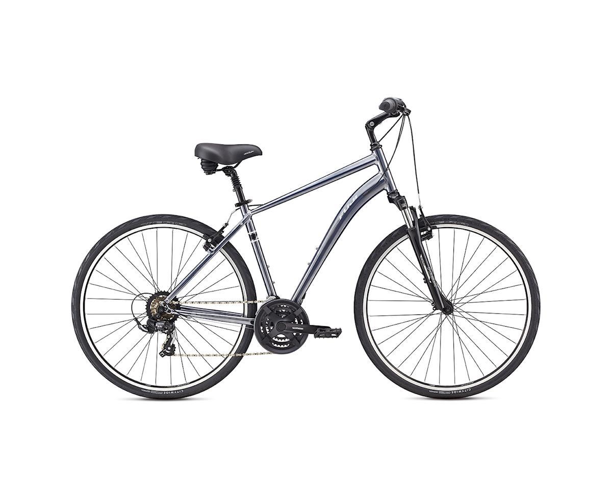 Fuji Crosstown 2.1 Comfort Bike - 2017 (Silver) (15)