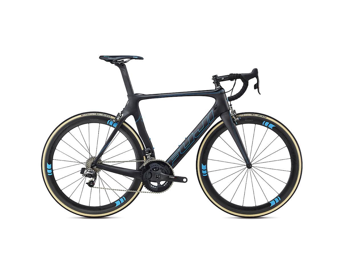 Fuji Bikes Fuji Transonic Elite Road Bike - 2017 (Carbon/Cyan)