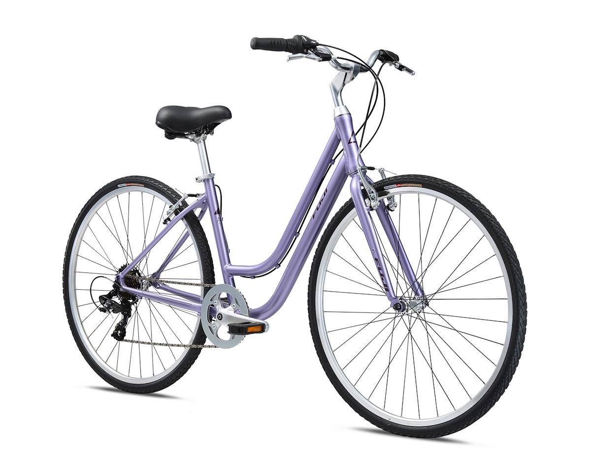 Fuji Bikes 2018 Crosstown 2.3 LS Women's Comfort Bike (Lavender)