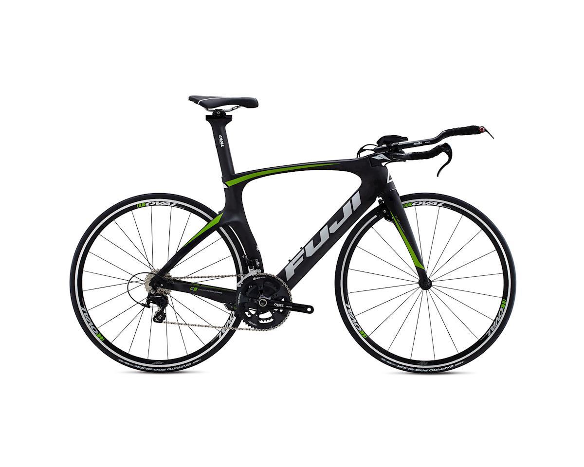 Fuji Norcom Straight 2.5 Triathlon Road Bike - 2015 (Carbon/Green) (55)