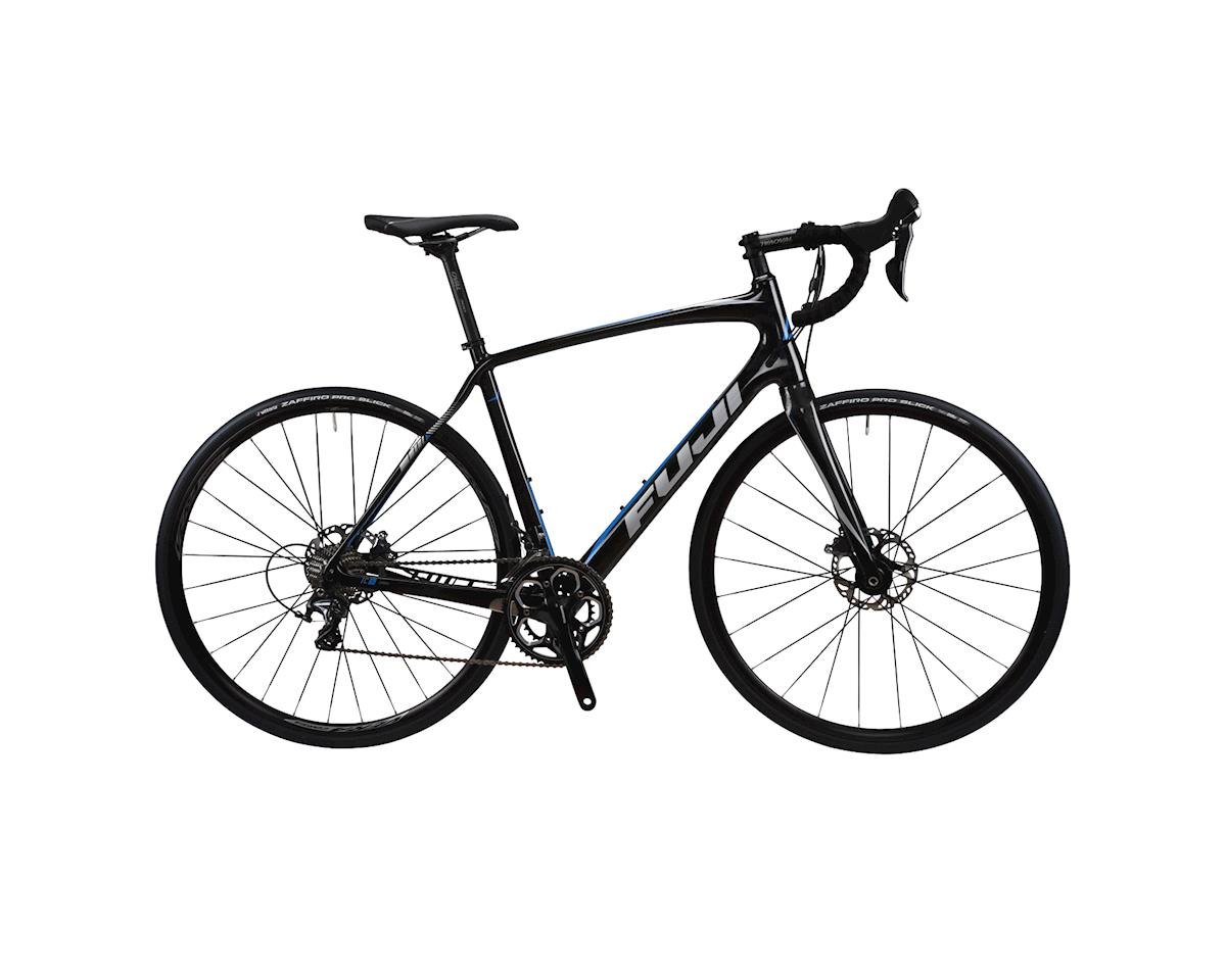 Image 3 for Fuji Bikes Fuji Gran Fondo 2.2 Disc LE Road Bike -- 2017 Performance Exclusive (Carbon)