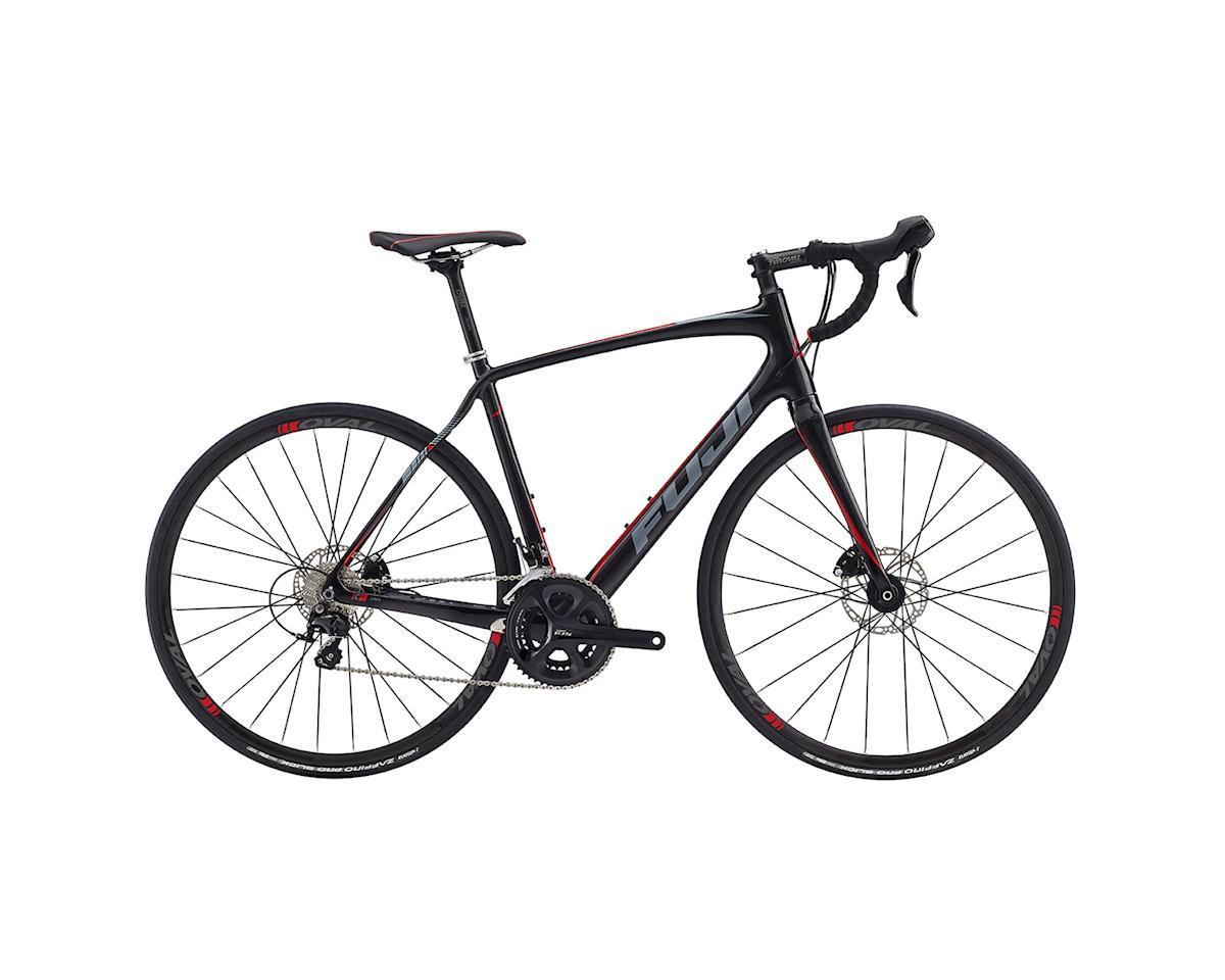 Fuji Gran Fondo 2.3 Disc Road Bike - 2017 (Carbon/Red) (56)