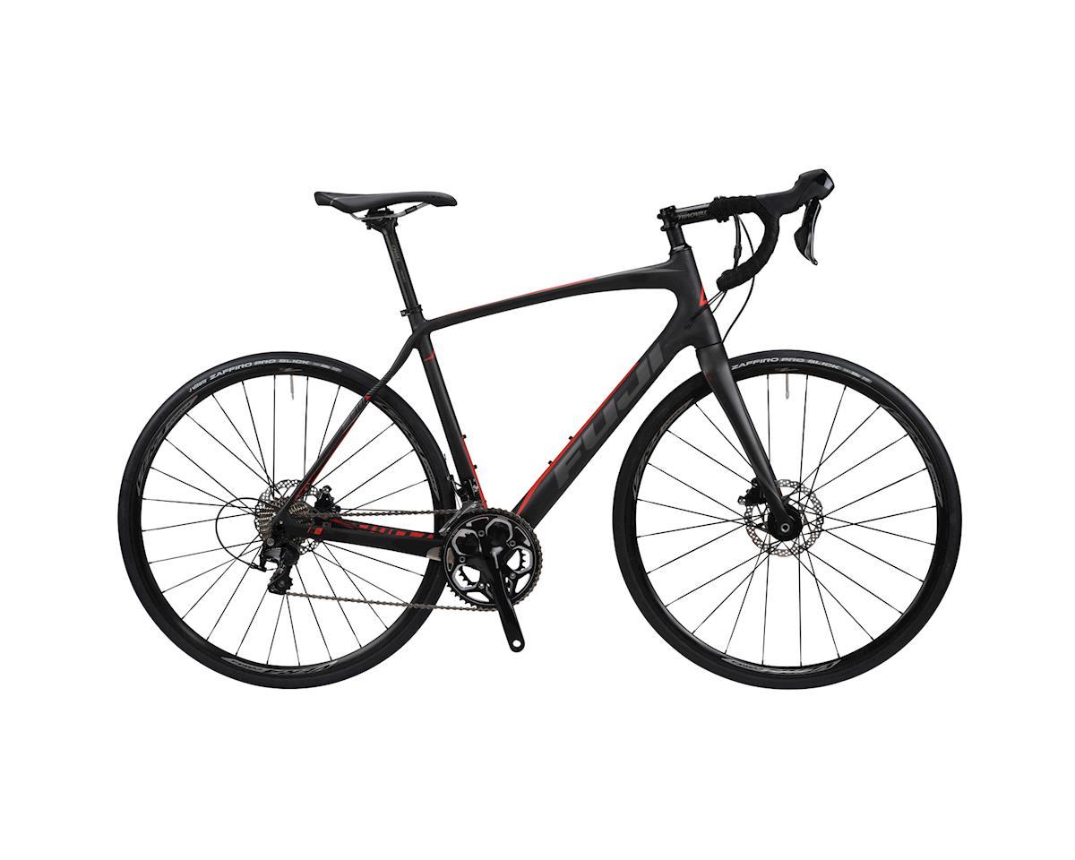 Image 3 for Fuji Bikes Fuji Gran Fondo 2.4 D LE Road Bike - 2016 Performance Exclusive (Matte Carbon)