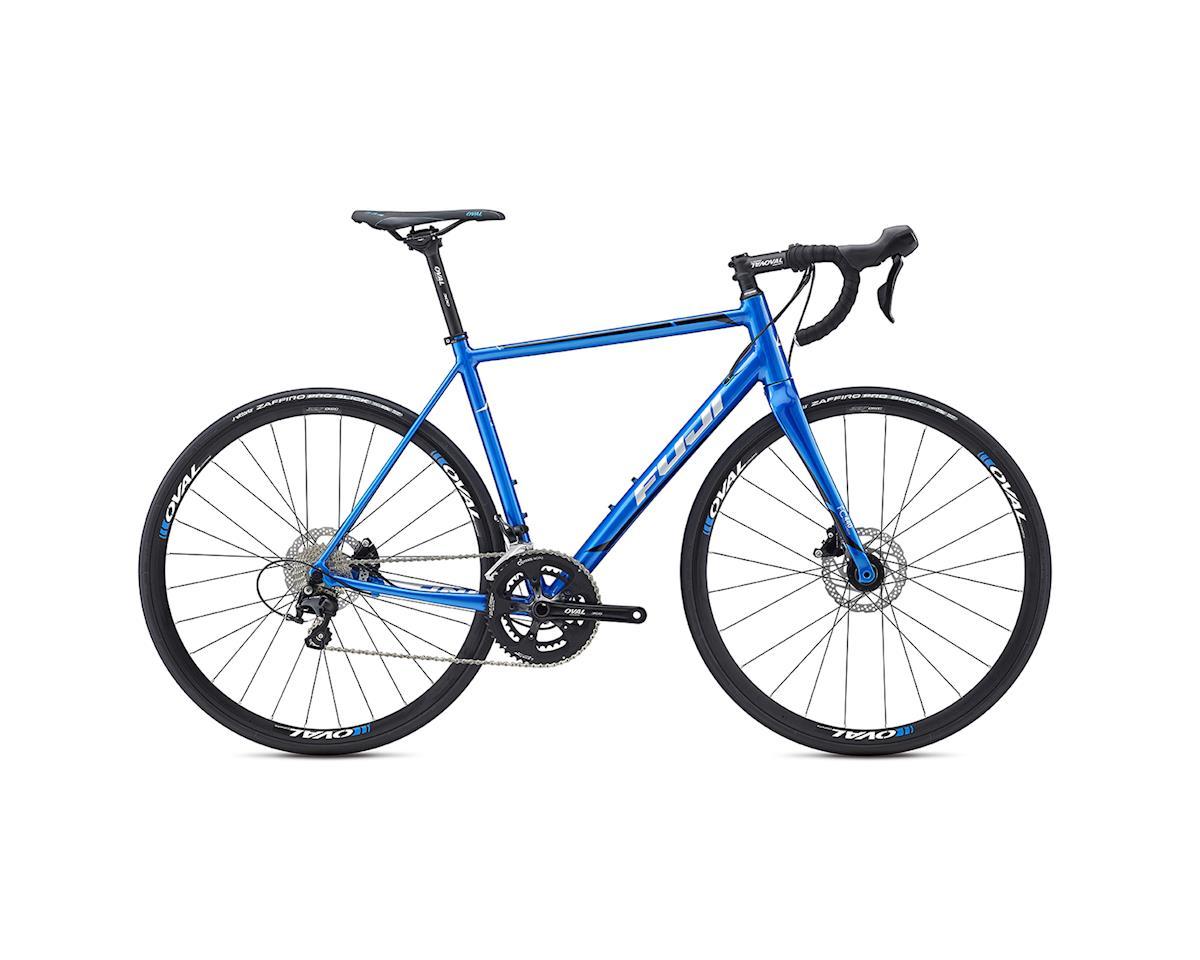Fuji Roubaix 1.3 Disc Road Bike -- 2017 (Blue/Silver) (61)