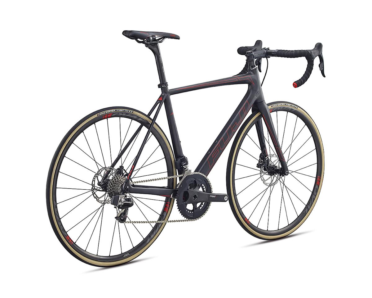 Fuji SL 1.1 Disc Road Bike - 2017 (Carbon/Red) (61)