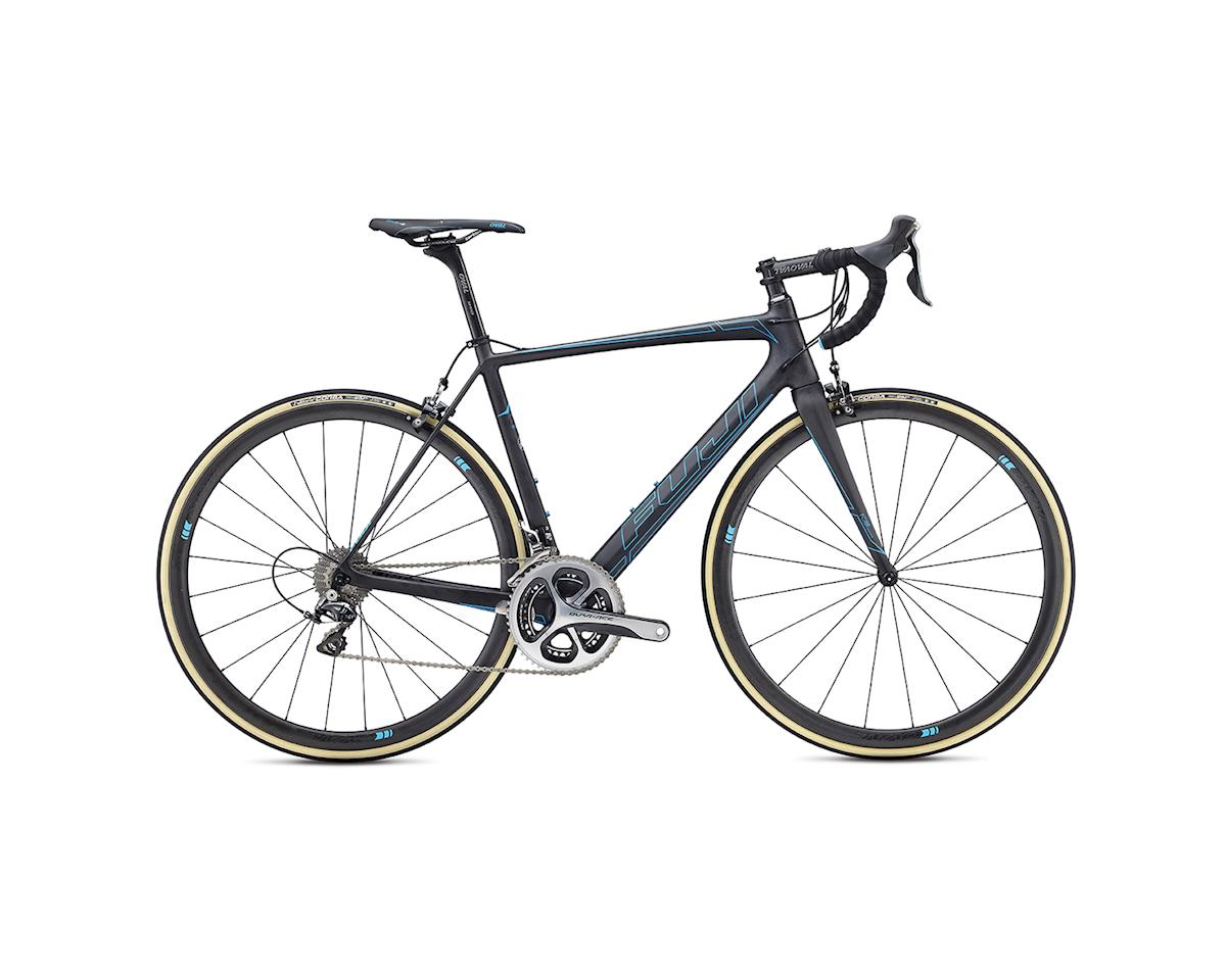 Fuji SL 1.3 Road Bike - 2017 (Carbon/Cyan) (58)