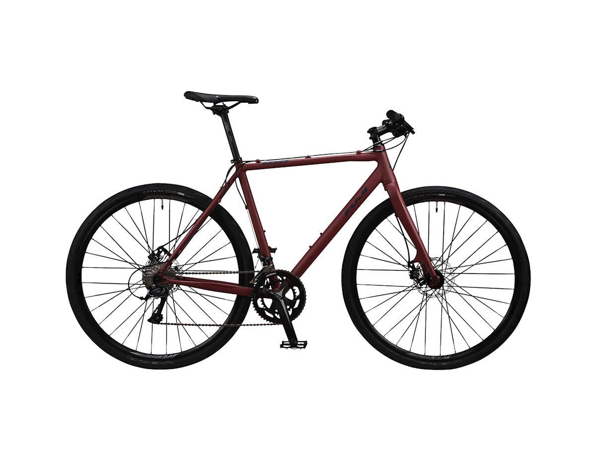 Image 3 for Fuji Bikes Fuji Tread 1.4 LE Flat Bar Disc Road Bike - 2017 Performance Exclusive (Brown)