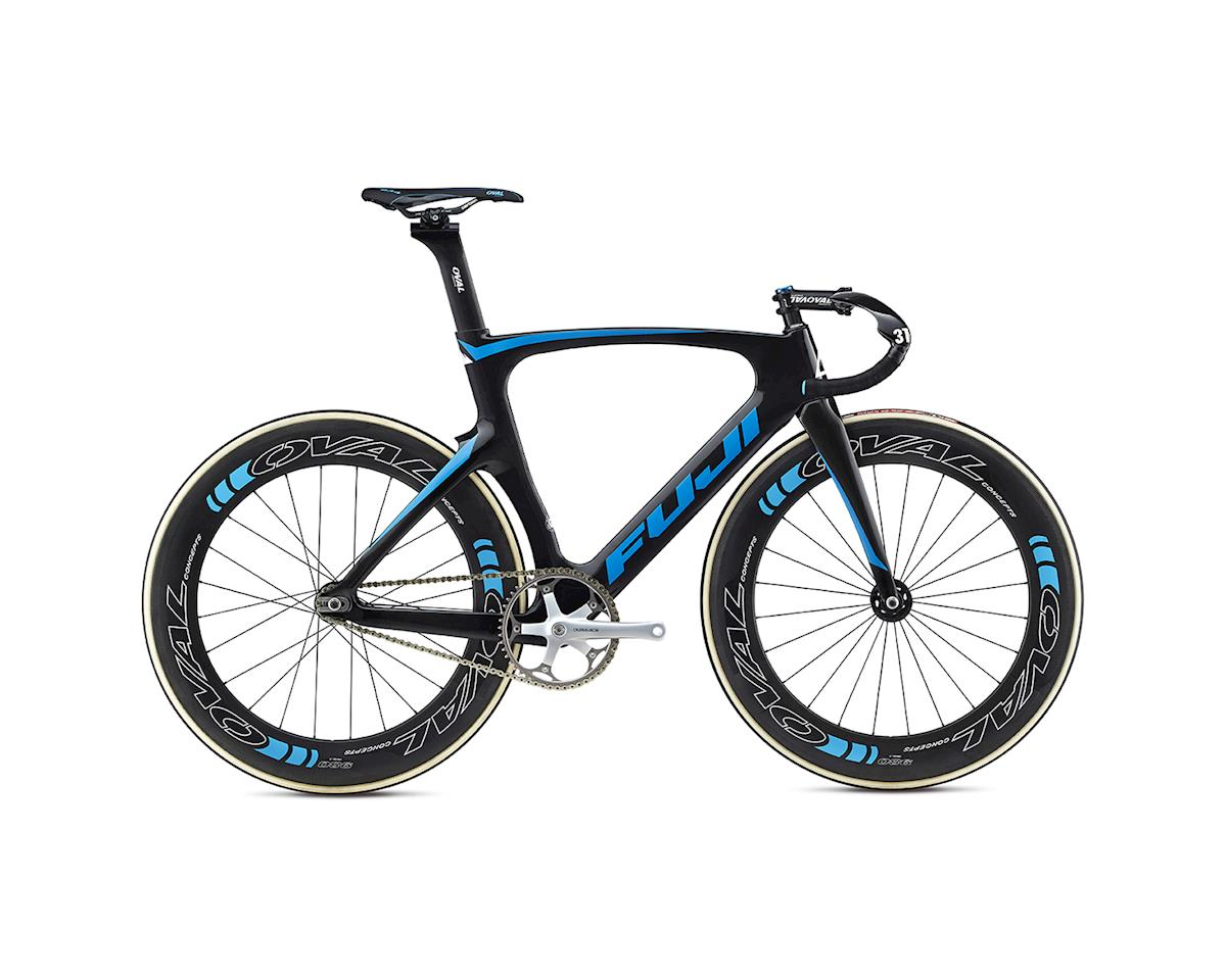Fuji Track Elite Track Bike -- 2017 (Carbon/Cyan) (58)
