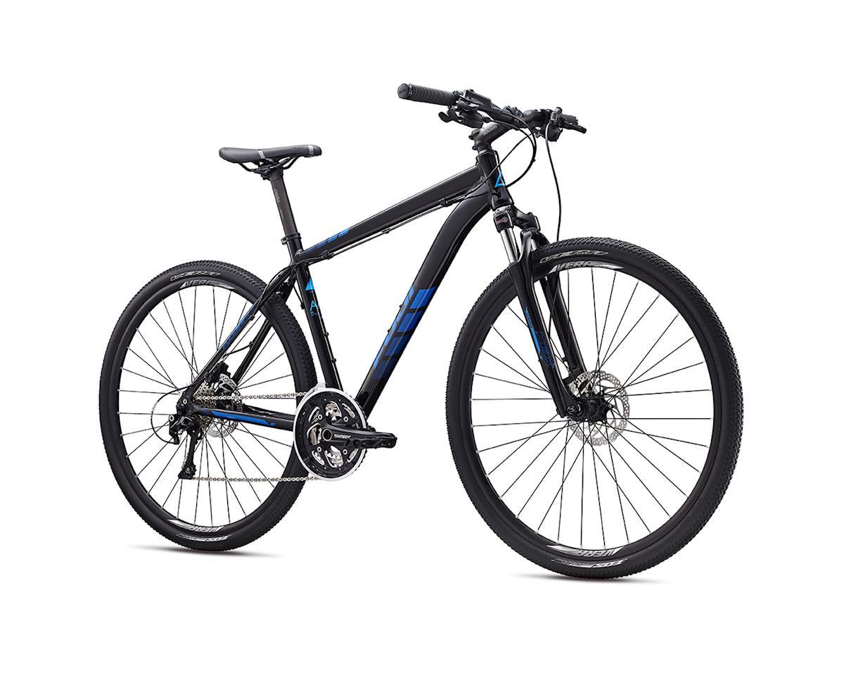 Fuji Traverse 1.1 Disc Sport Hybrid Bike - 2017 (Black/Blue) (15)