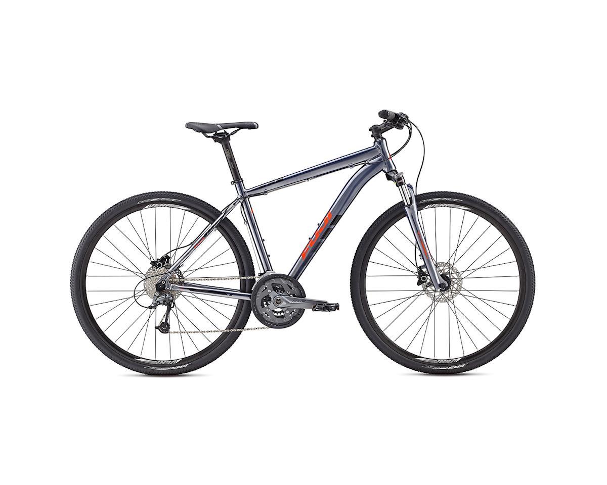 Fuji Bikes BIKE FUJ TRAVERSE 1.3D 17 (Dark Grey)