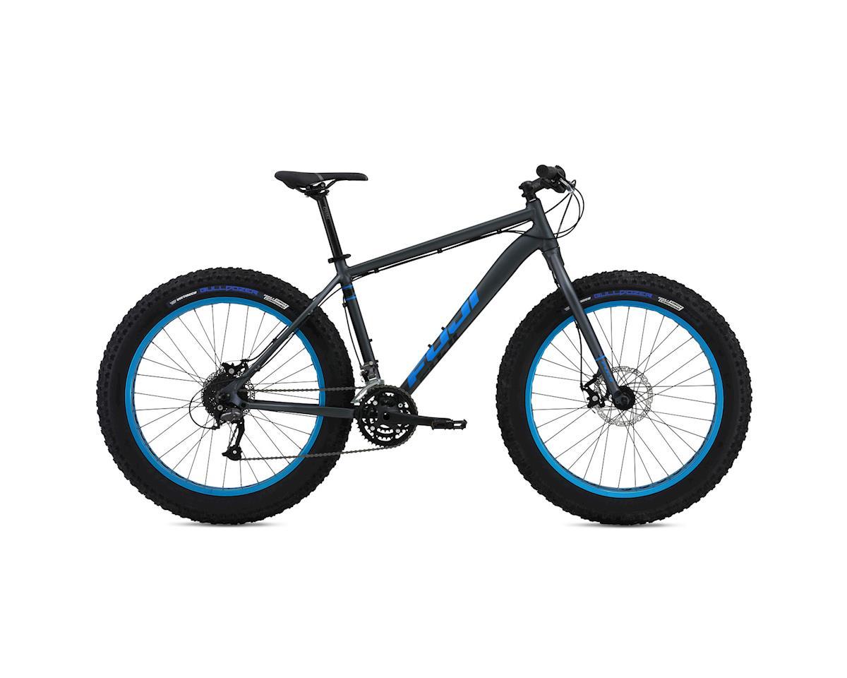 Fuji Wendigo 1.3 Fat Bike - 2016 (Grey/Cyan) (17)