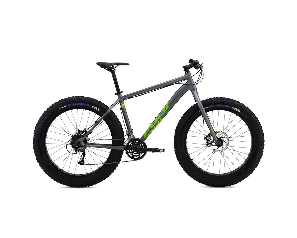 Fuji Wendigo 1.3 Fat Bike - 2016 (Gray/Green) (19 Inch)