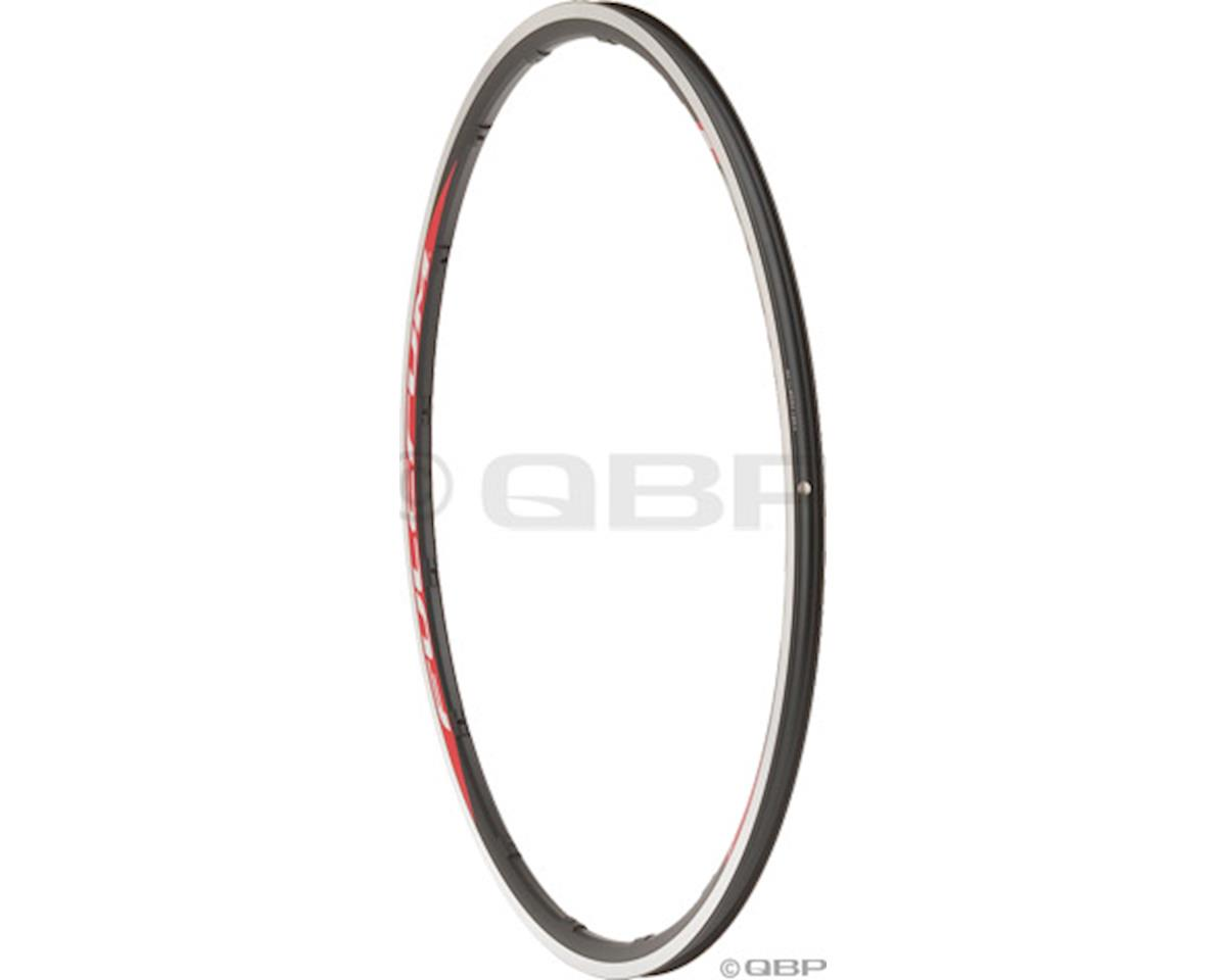 Road Rear Rim for Racing 1 Clincher Black (2005-2009 Compatability)
