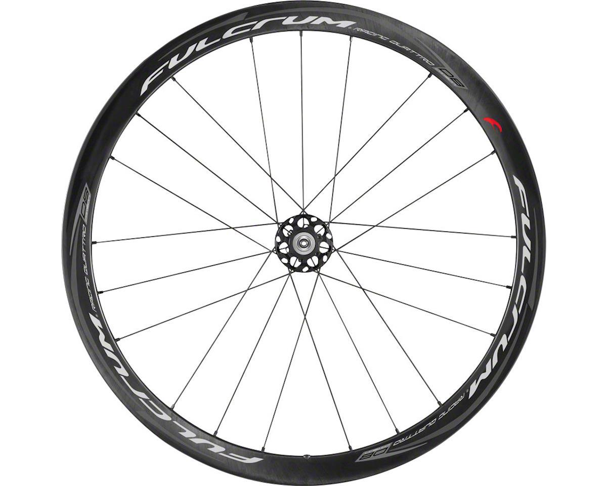 Fulcrum Racing Carbon Quattro Disc, 700c Road Clincher Wheelset, Center Lock, Sh