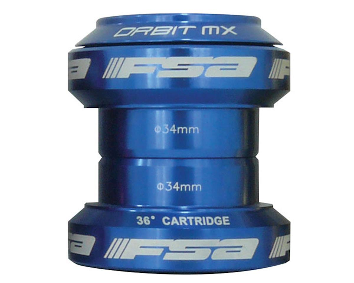 "FSA Orbit MX Threadless Headset (Blue) (1-1/8"") (EC34/28.6, EC34/30)"
