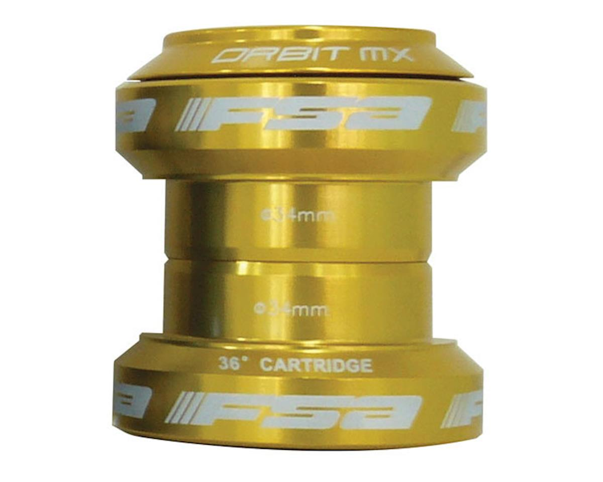 "FSA Orbit MX Threadless Headset (Gold) (1-1/8"") (EC34/28.6, EC34/30)"