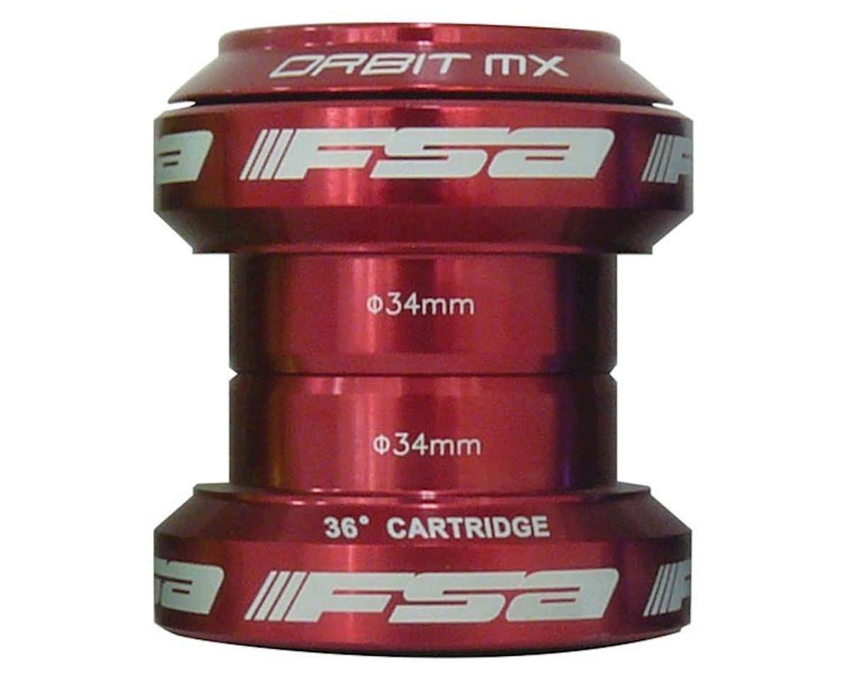 """FSA Orbit MX Threadless Headset (Red) (1-1/8"""") (EC34/28.6, EC34/30)"""