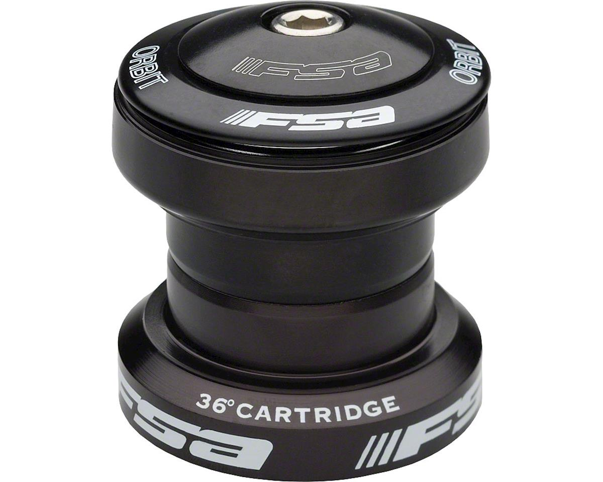 "FSA Orbit UF Threadless Headset (Black) (1-1/8"") (EC34/28.6, EC34/30)"