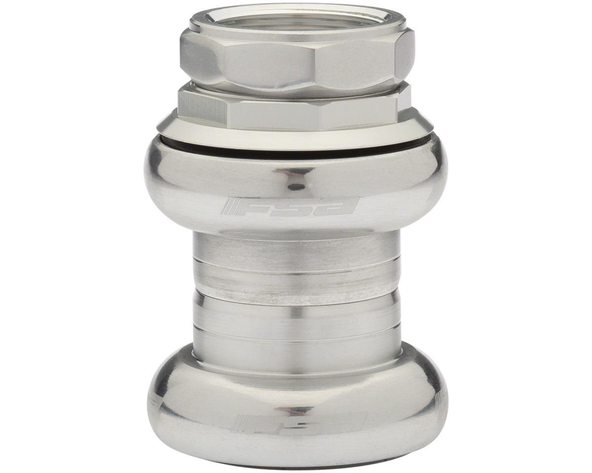 FSA Duron X Threaded Headset (Silver) (EC30/25.4, EC30/26)