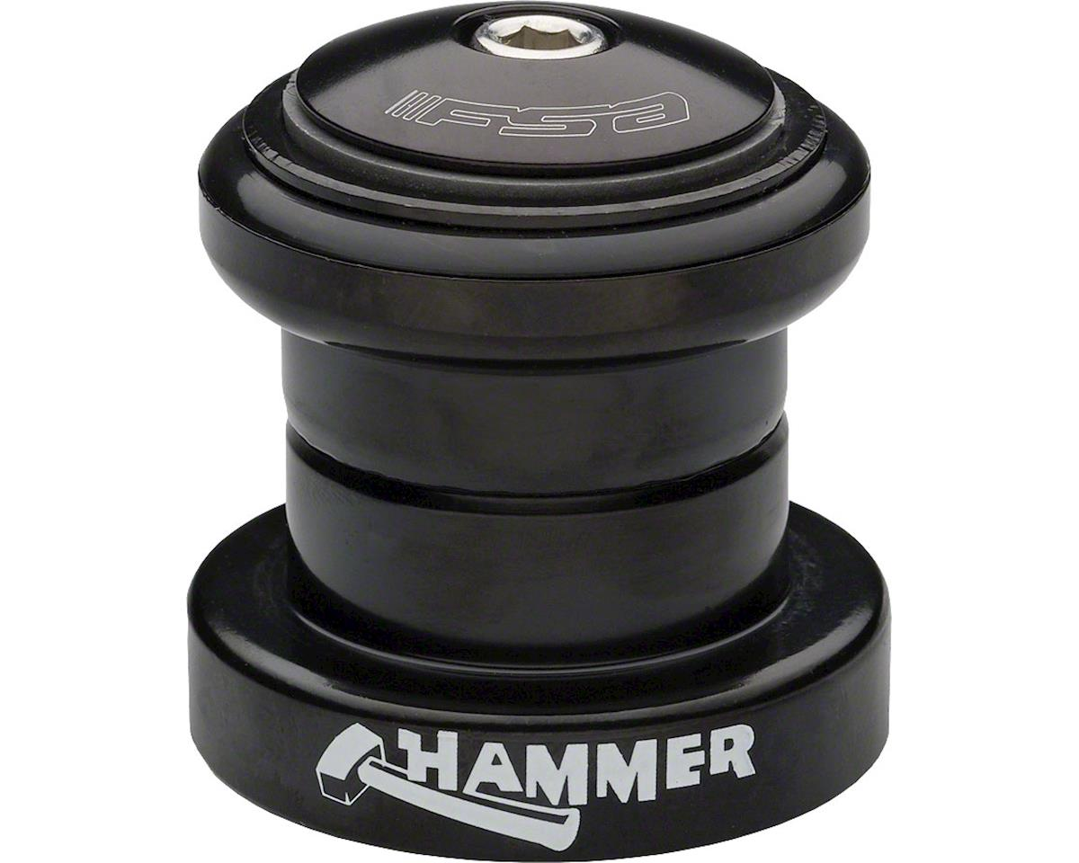 "FSA Hammer Heavy Duty Threadless Headset (Black) (1-1/8"") (EC34/28.6, EC34/30)"