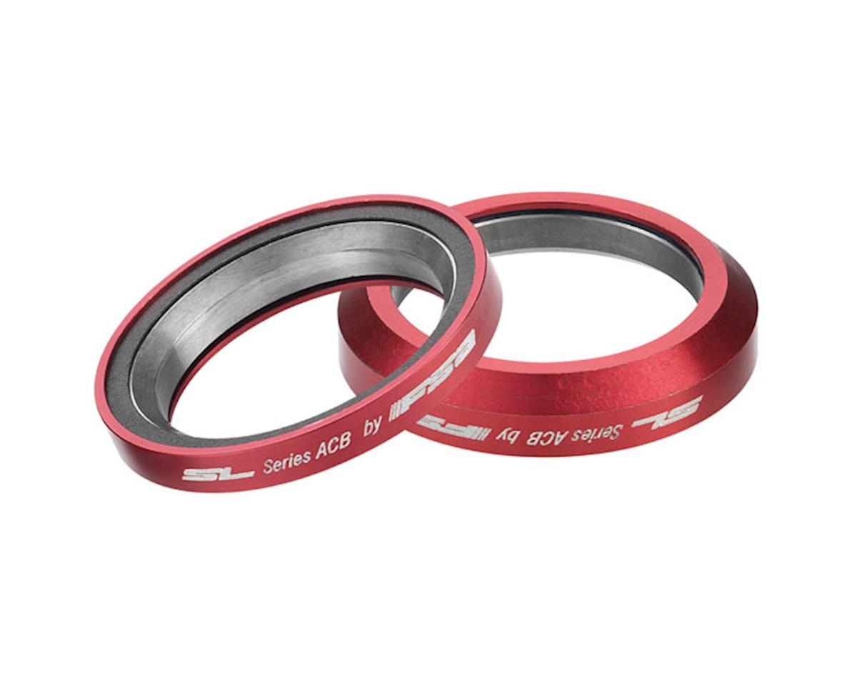 "FSA Super Light Angular Cartridge Bearings (Red) (1-1/8"") (36x45) (Orbit IS/Orbit ZS) 