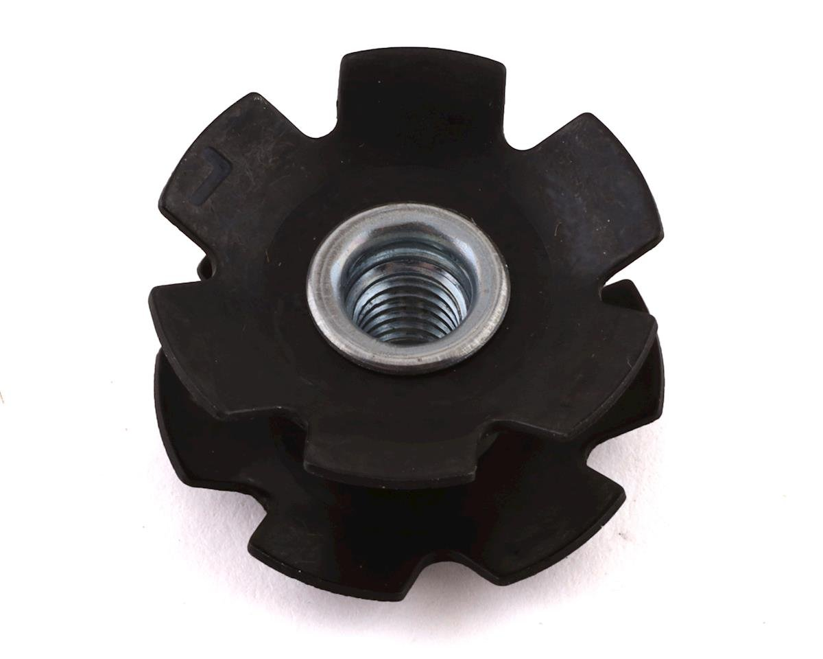 "FSA Steel Star Nuts (Black) (1-1/8"")"
