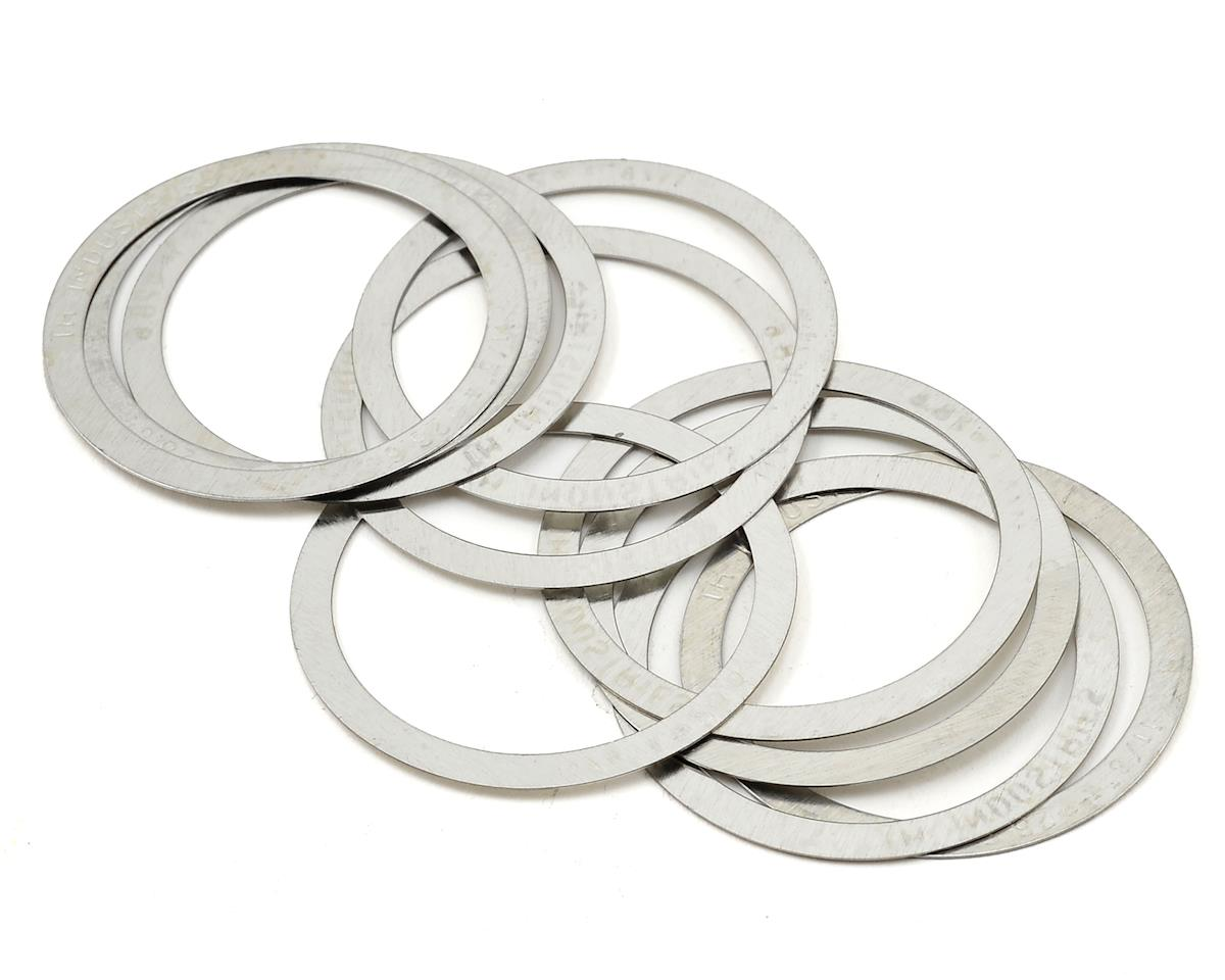 "FSA Micro Headset Spacer 1-1/8"" .25mm (Silver) (Bag Of 10)"