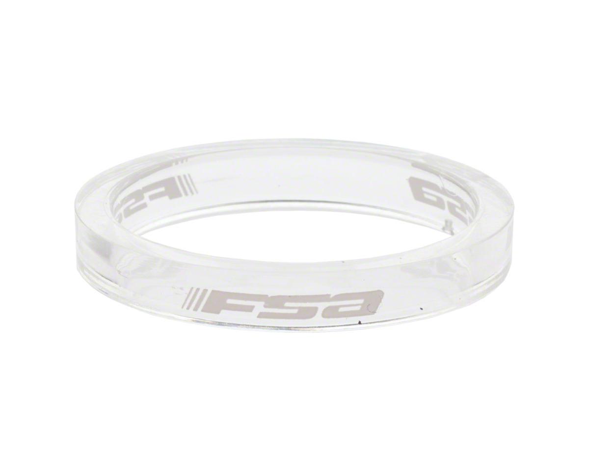 "FSA PolyCarb headset spacer 1-1//8/"" x 5mm blue 10//bag"