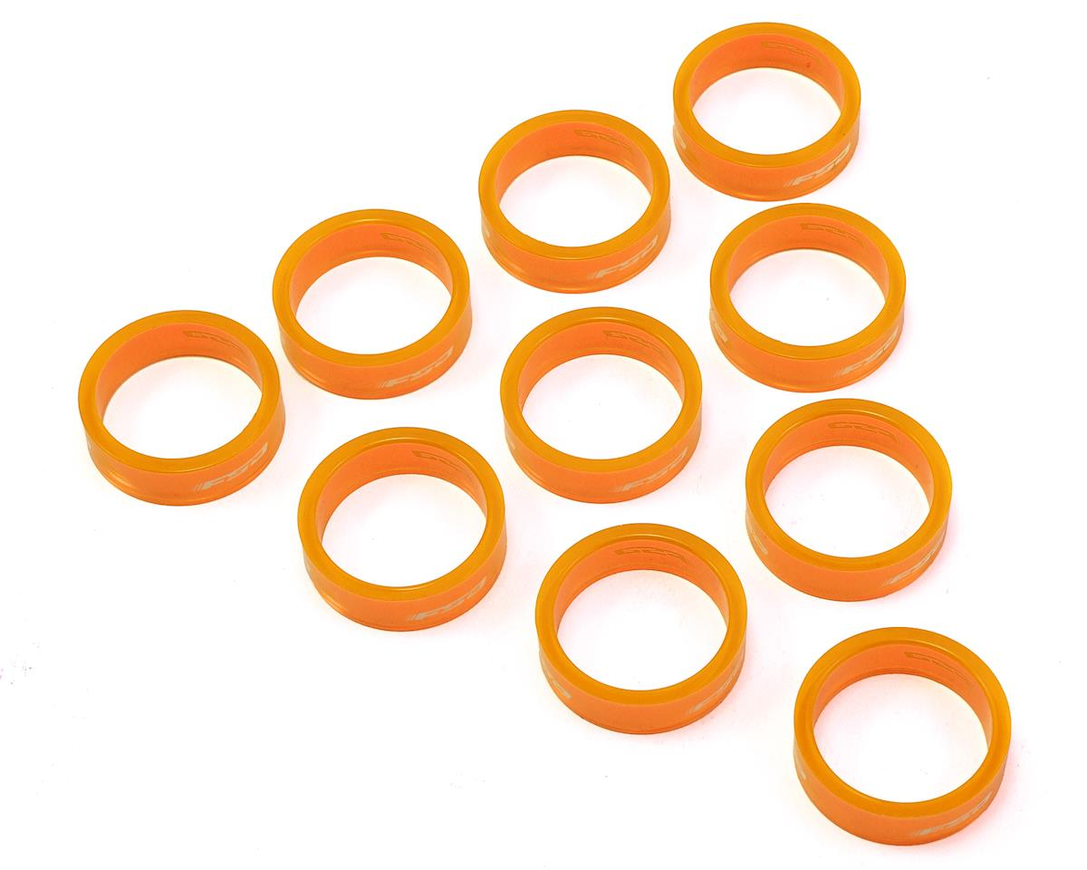 "FSA PolyCarbonate Headset Spacers (Orange) (1-1/8"") (10) (10mm)"