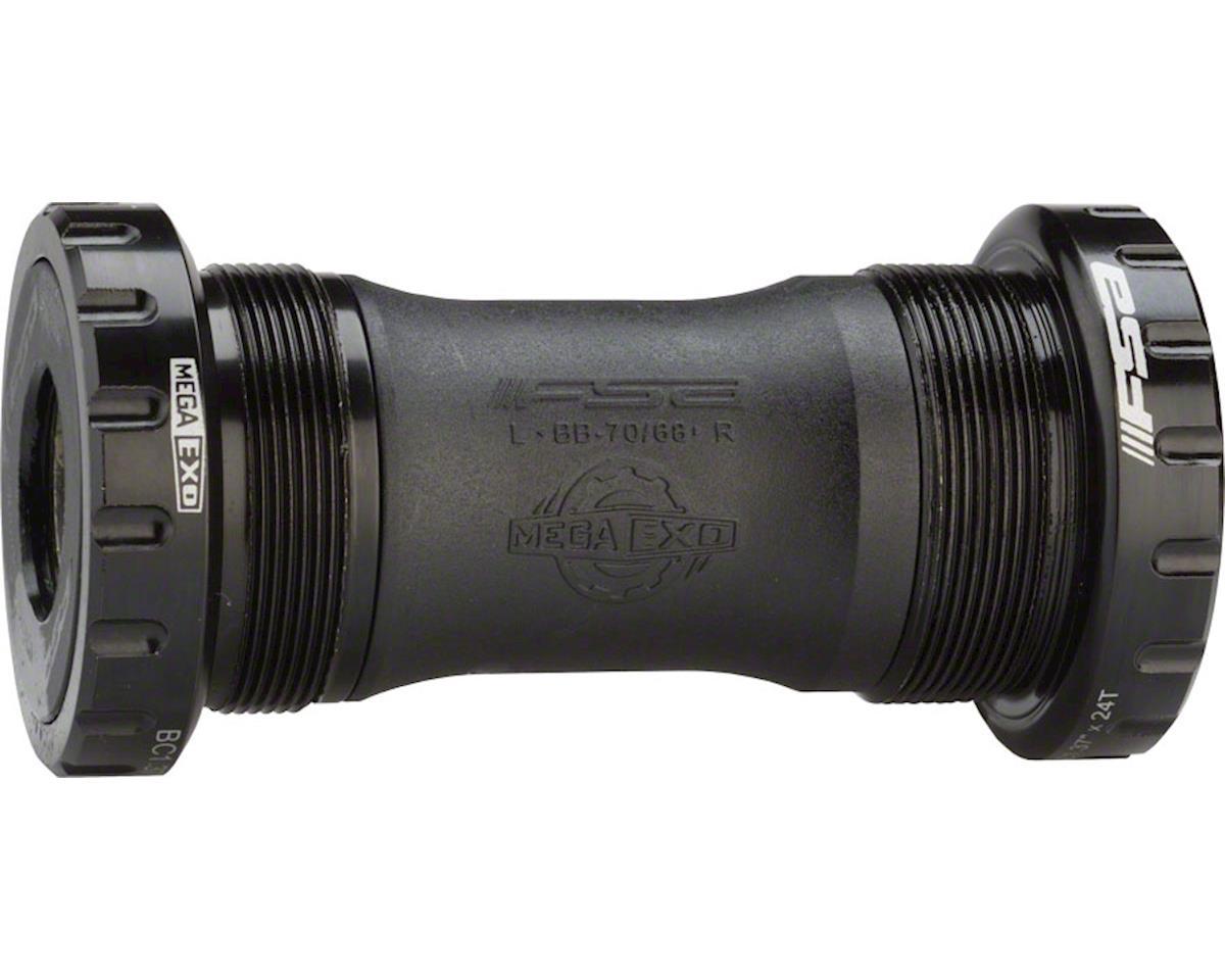 MegaExo 19 Omega BB-4000 68mm Bottom Bracket, Black