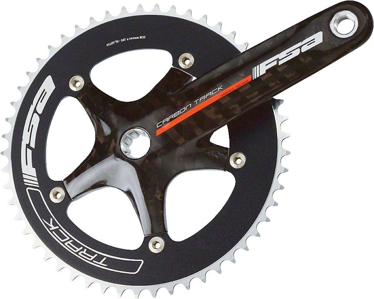 Carbon Track 172.5mm 49T ISIS Crankset 144bcd~ Bottom Bracket Not Included