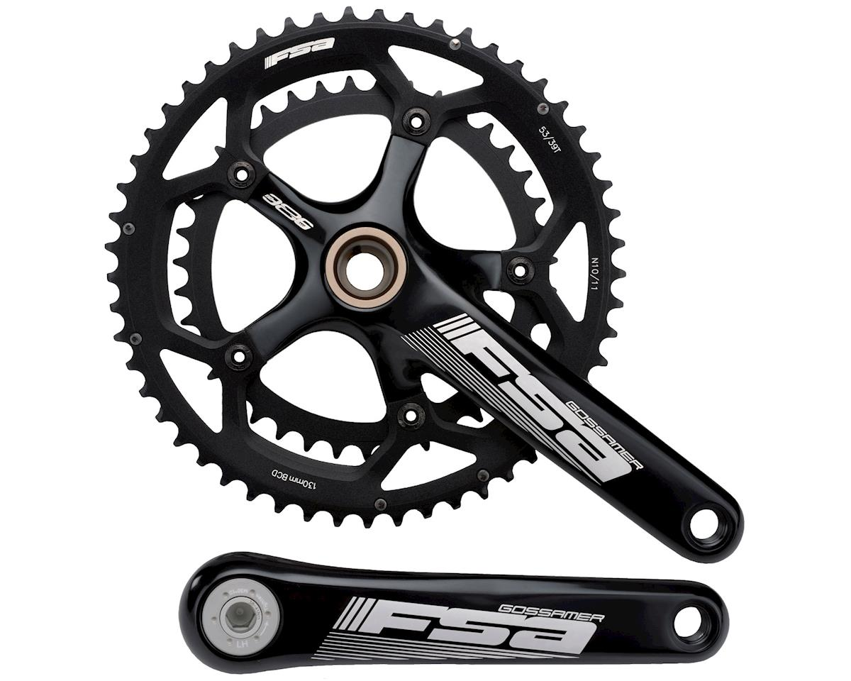 FSA Gossamer Road Bike Crankset 39-53 (Black) (172.5)