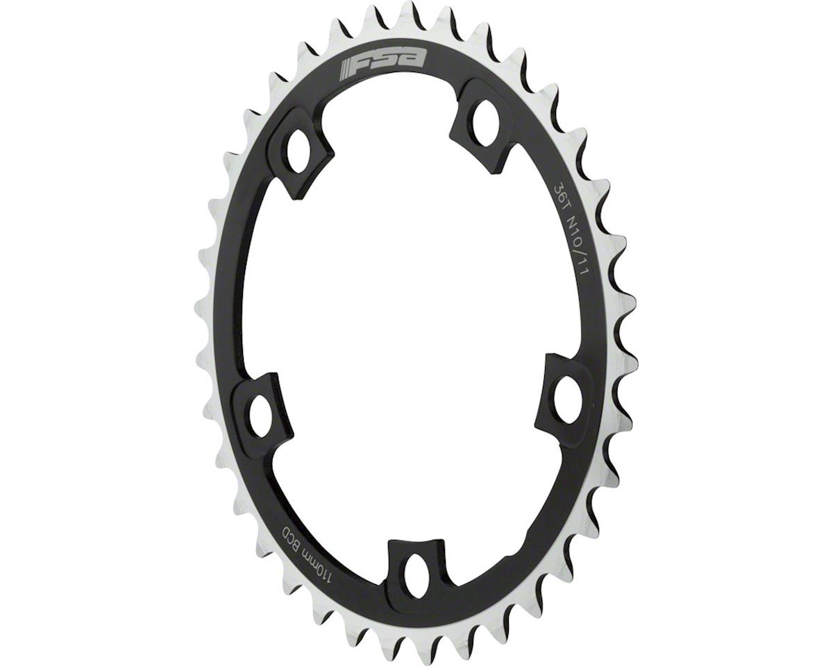 FSA Pro Road Chainring N-11 110x36t, Black